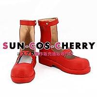 【サイズ選択可】コスプレ靴 ブーツ K-2083 しにがみのバラッド。 モモ 女性23.5CM