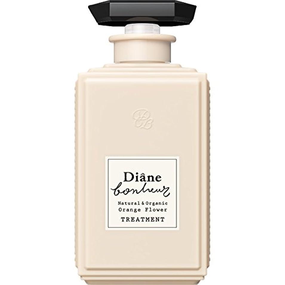 寝る担保記念日ダイアン ボヌール オレンジフラワーの香り モイストリラックス トリートメント 500ml