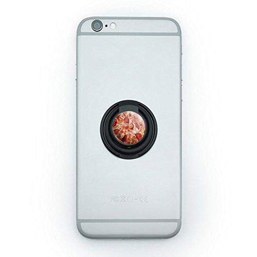 チーズとペパロニPizza に携帯電話用リングホルダースタンド