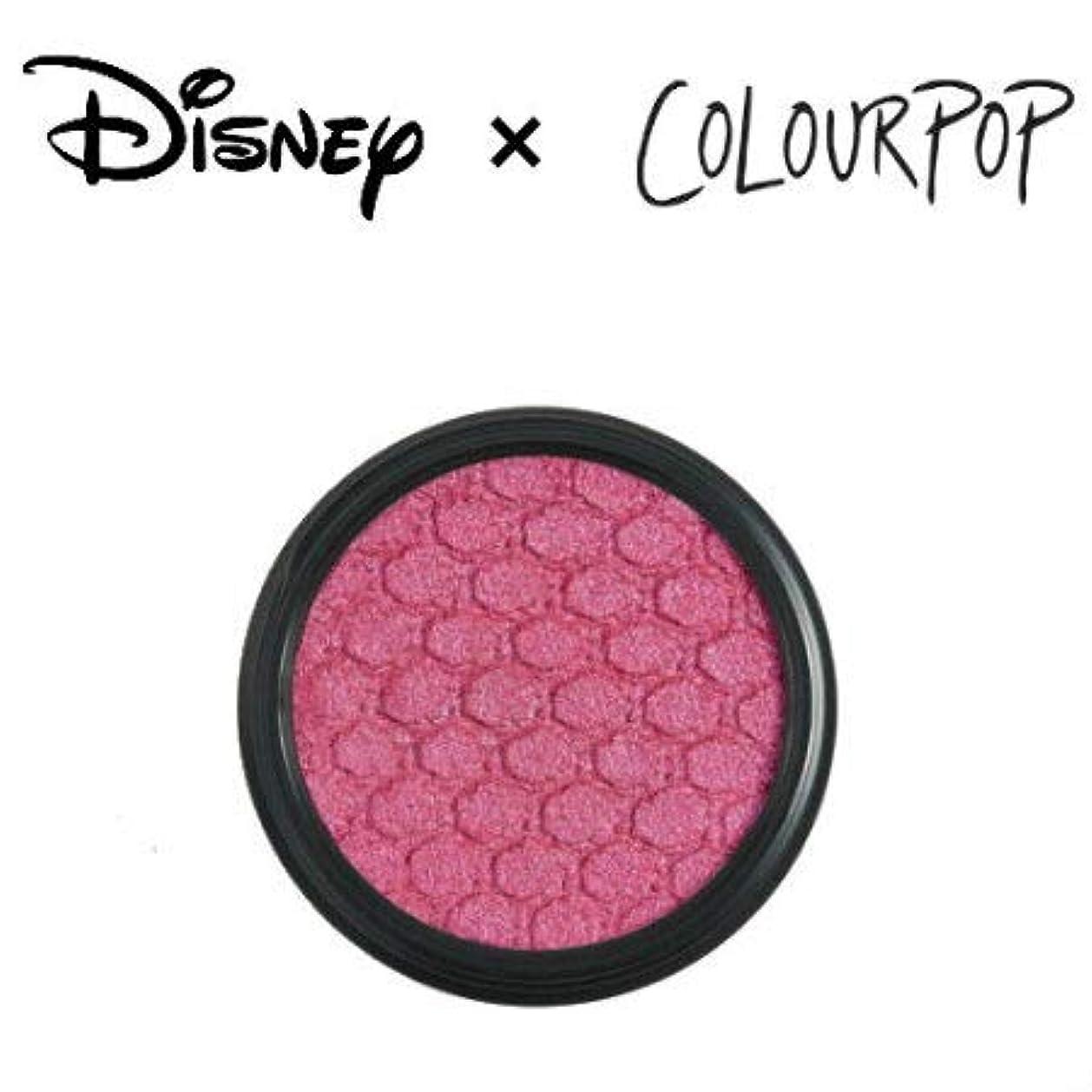 舗装遺棄された外観カラーポップ COLOURPOP x DISNEY ディズニー プリンセス アイシャドウ BE OUR GUEST(ベリーピンク)