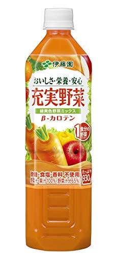 充実野菜 緑黄色野菜ミックス 930g ×12本