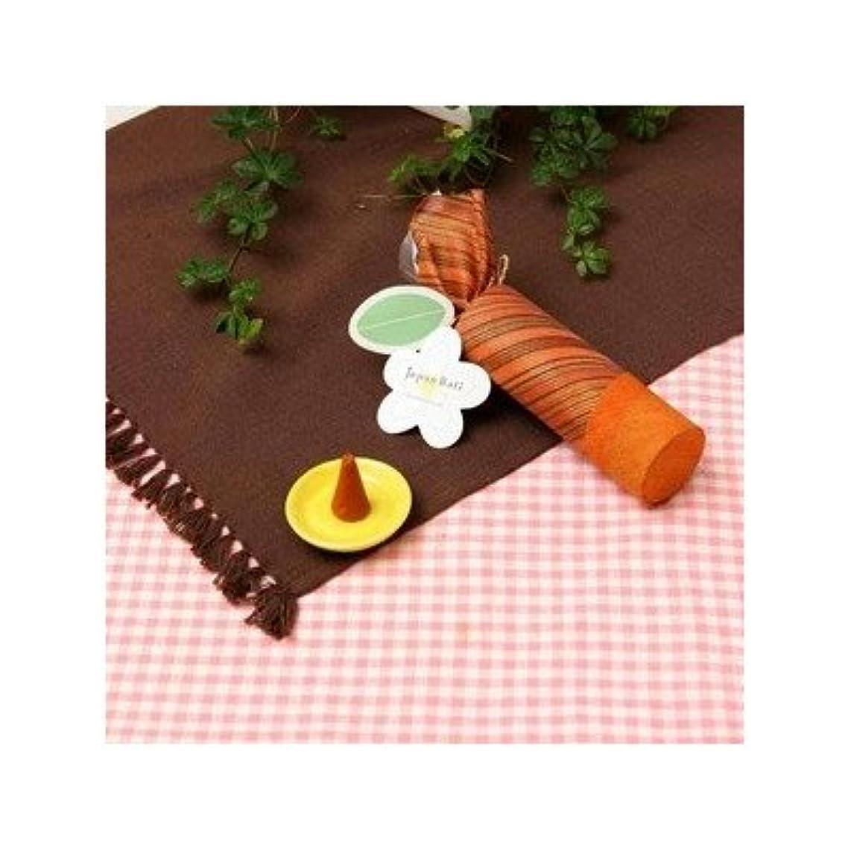 お香/インセンス 〔サンダルウッドの香り コーンタイプ10個入り〕 バリ島製 「Jupen Bari/ジュプンバリ」[通販用梱包品]