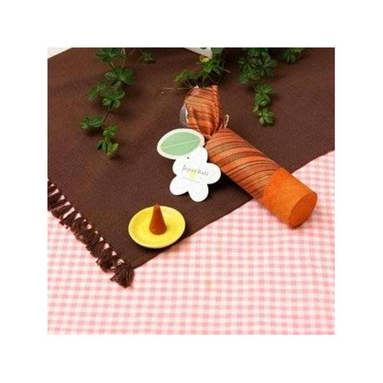 達成群れ合体お香/インセンス 〔サンダルウッドの香り コーンタイプ10個入り〕 バリ島製 「Jupen Bari/ジュプンバリ」[通販用梱包品]