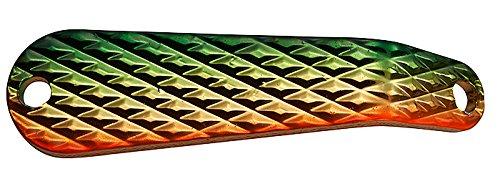 スミス(SMITH LTD) スプーン バック&フォース ダイヤ 5g グリーンゴールドオレンジGGO #12 ルアー