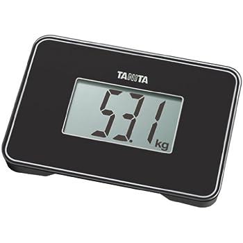 TANITA スモールスケール 【持ち運びに便利なA5サイズより小さい小型設計】 ブラック HD-386-BK