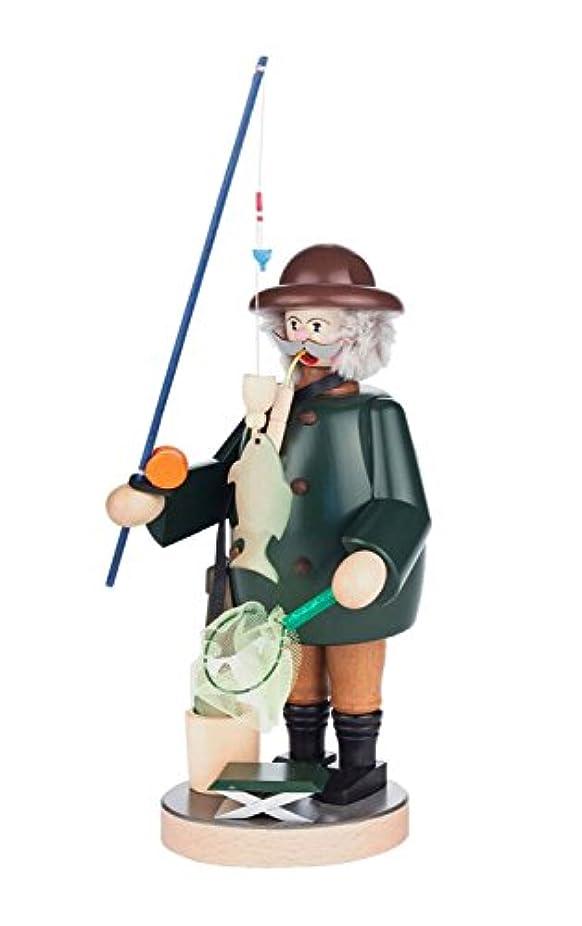 幻想エンドテーブル白いAlexander Taron 146-120 Dregeno Incense Burner - Fisherman with His Big Catch