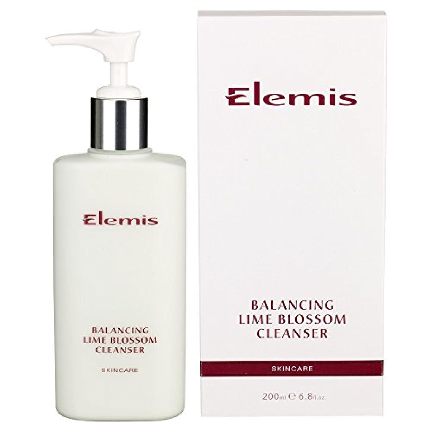 真っ逆さまむしゃむしゃ入浴ライムブロッサムクレンザーのバランスをとります (Elemis) (x6) - Balancing Lime Blossom Cleanser (Pack of 6) [並行輸入品]