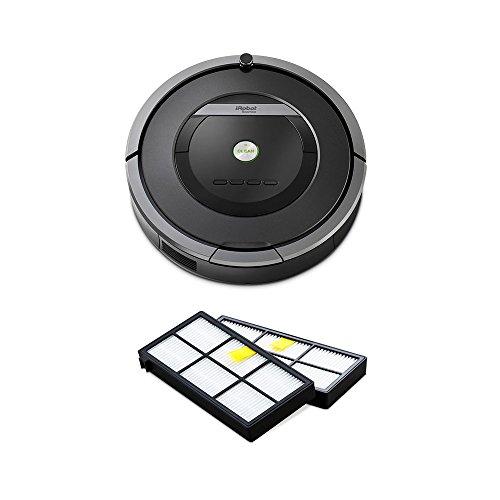 iRobot Roomba 自動掃除機 ルンバ 870 ピューターグレー 【日本仕様正規品】 + 専用ダストカットフィルター 2個付