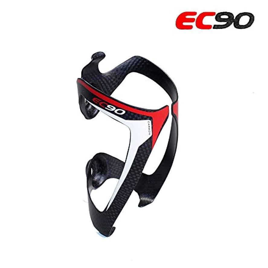 犬特別な交じるEC90 自転車ボトルホルダー フルカーボンファイバーボトルケージ ブラックマットケージ 自転車アクセサリー サイクリング 超軽量 水筒ラック