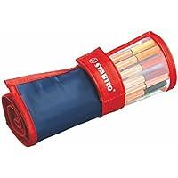 スタビロ 水性ペン ポイント88 ペンケースローラー 25色 8825-021