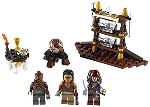 レゴ (LEGO) パイレーツオブカリビアン 船長のキャビン 4191