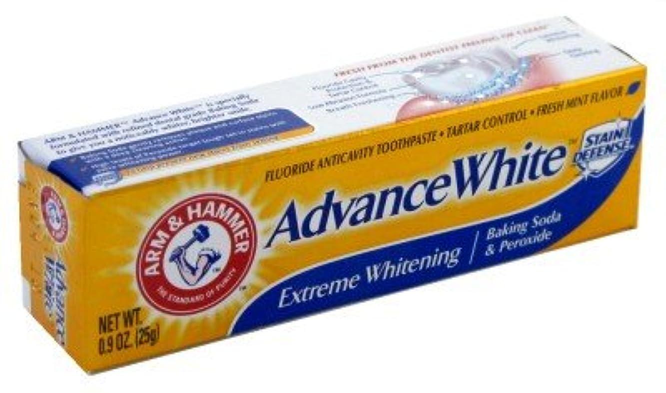 複合スケート麻酔薬Arm & Hammer Toothpaste Advance X-Treme Whitening 0.9 oz. by Arm & Hammer