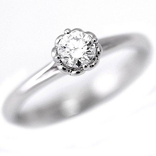 FOREVERMARK フォーエバーマーク ダイヤモンド リング 指輪 K18WG 1P 約11.5号 [新品仕上げ済み][中古]