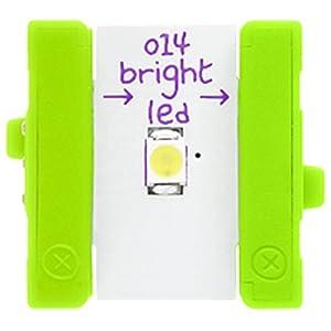littleBits 電子工作 モジュール BITS MODULES O14 BRIGHT LED ブライトLED 発光ダイオード