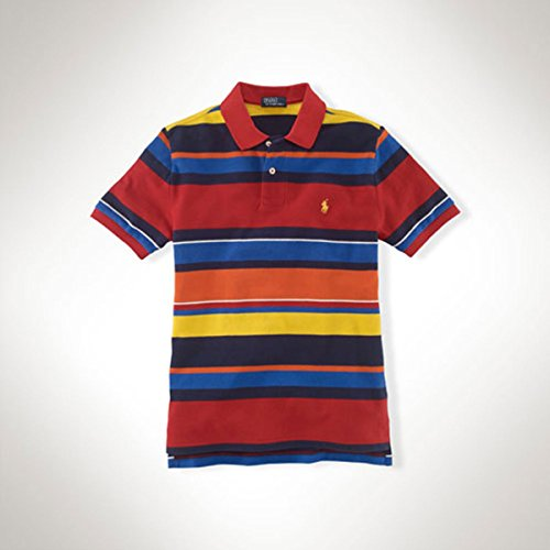 3cfdf1aa24ee0 [ポロ ラルフローレン キッズ] POLO RALPH LAUREN CHILDREN 正規品 子供服 ボーイズ ポロシャツ Polo  #19150636 RED XL 並行輸入 (コード:4056536311-5)