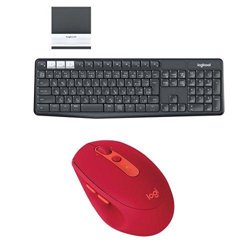【ロジクール Bluetoothキーボード (スタンド付属)...