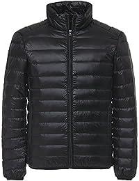 「Yoho」(ヨーホー) ライト ダウン ジャケット メンズ 超軽量 カジュアル 防寒 暖かい 秋 冬 ウルトラライト コート