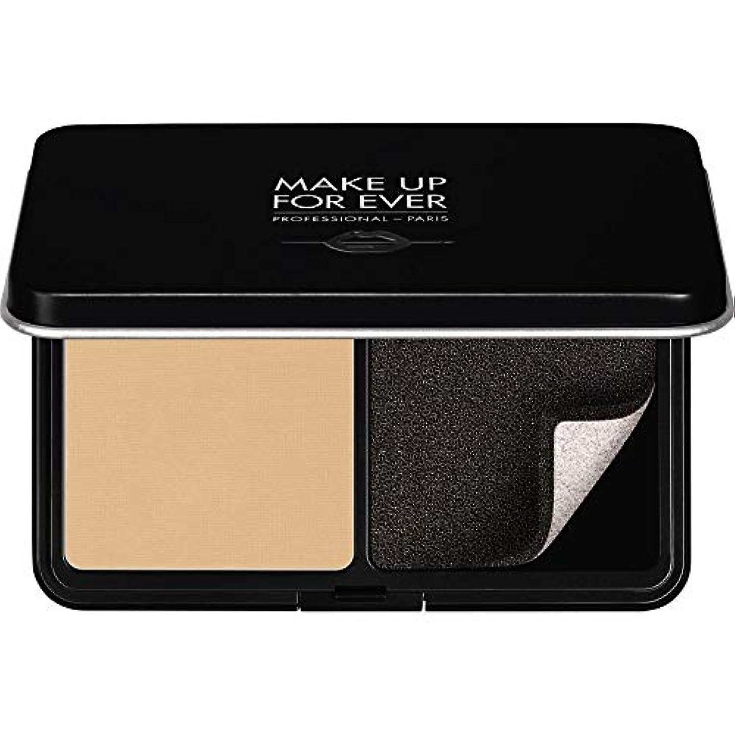 専門化するカーテンわずらわしい[MAKE UP FOR EVER ] パウダーファンデーション11GののY225をぼかし、これまでマットベルベットの肌を補う - 大理石 - MAKE UP FOR EVER Matte Velvet Skin Blurring...