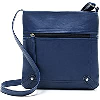 Lookatool Womens Leather Satchel Cross Body Shoulder Messenger Bag Handbag