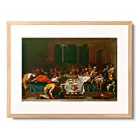 ニコラ・プッサン Nicolas Poussin 「Sacrament of Penance. From the series of the Seven Sacraments. 1640-41」 額装アート作品