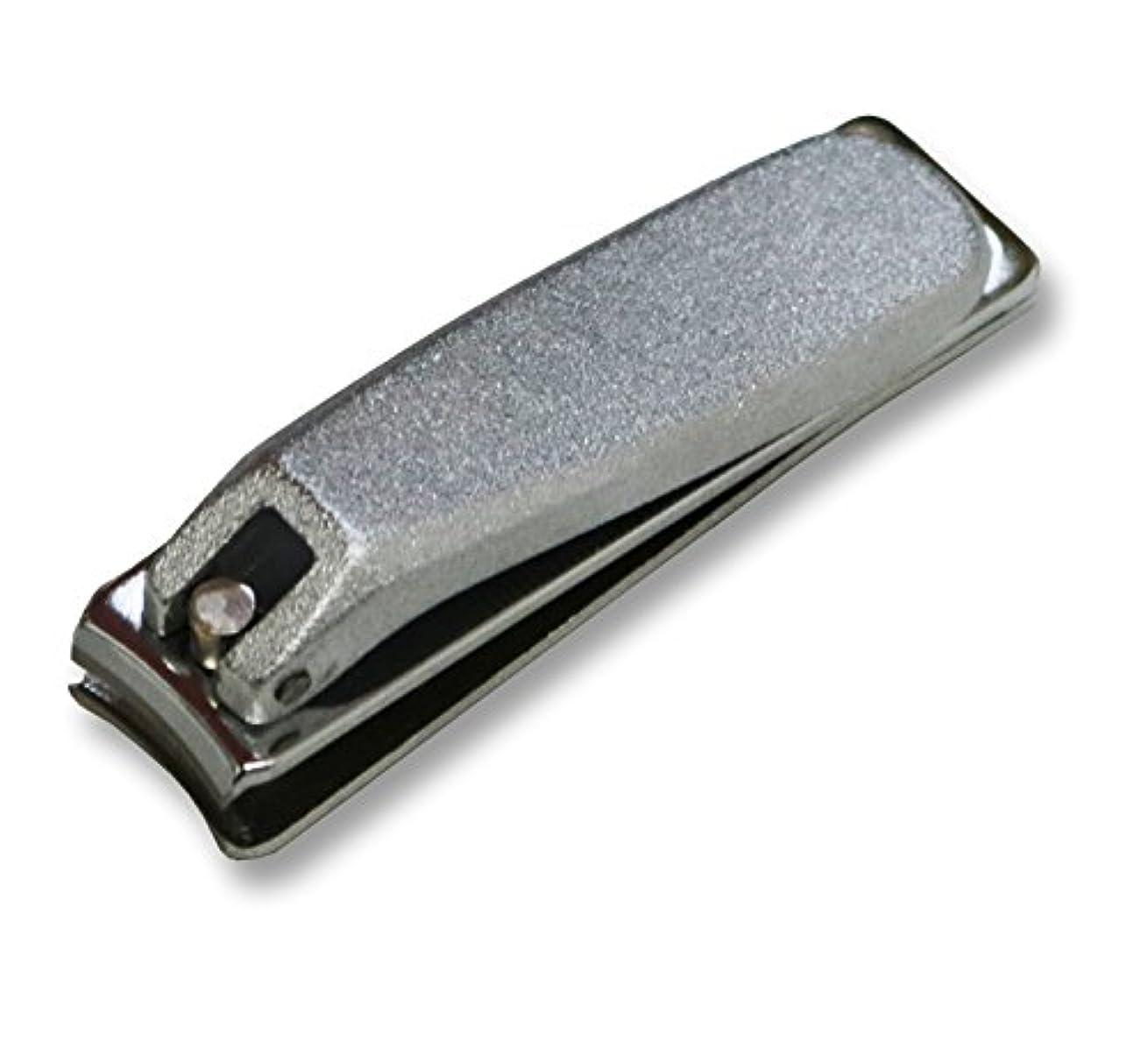 害虫義務的プレートKD-023 関の刃物 クローム爪切 小 カバー無