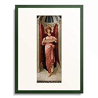 ジョン・メルフイシュ・ストラドウィック John Melhuish Strudwick 「Angel. 1895 (see also image 39368)」 額装アート作品