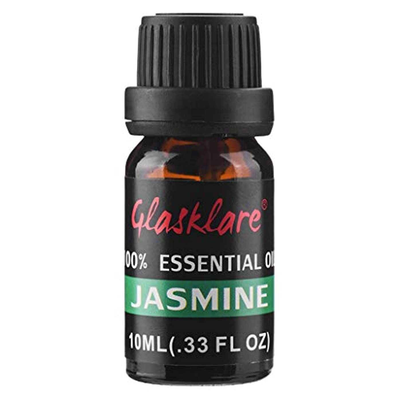 誘導ブラインドすべきLazayyii エッセンシャルオイル アロマオイル 精油 天然 無添加 100%ピュア ジャスミン (10ml)