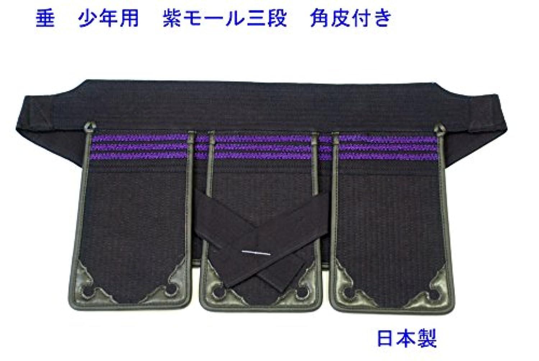 剣道 垂 少年用(小学生) 三段飾り 角雲付