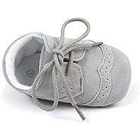 Estamico Baby Boys' Pu Shoes Prewalker Pu Sneakers