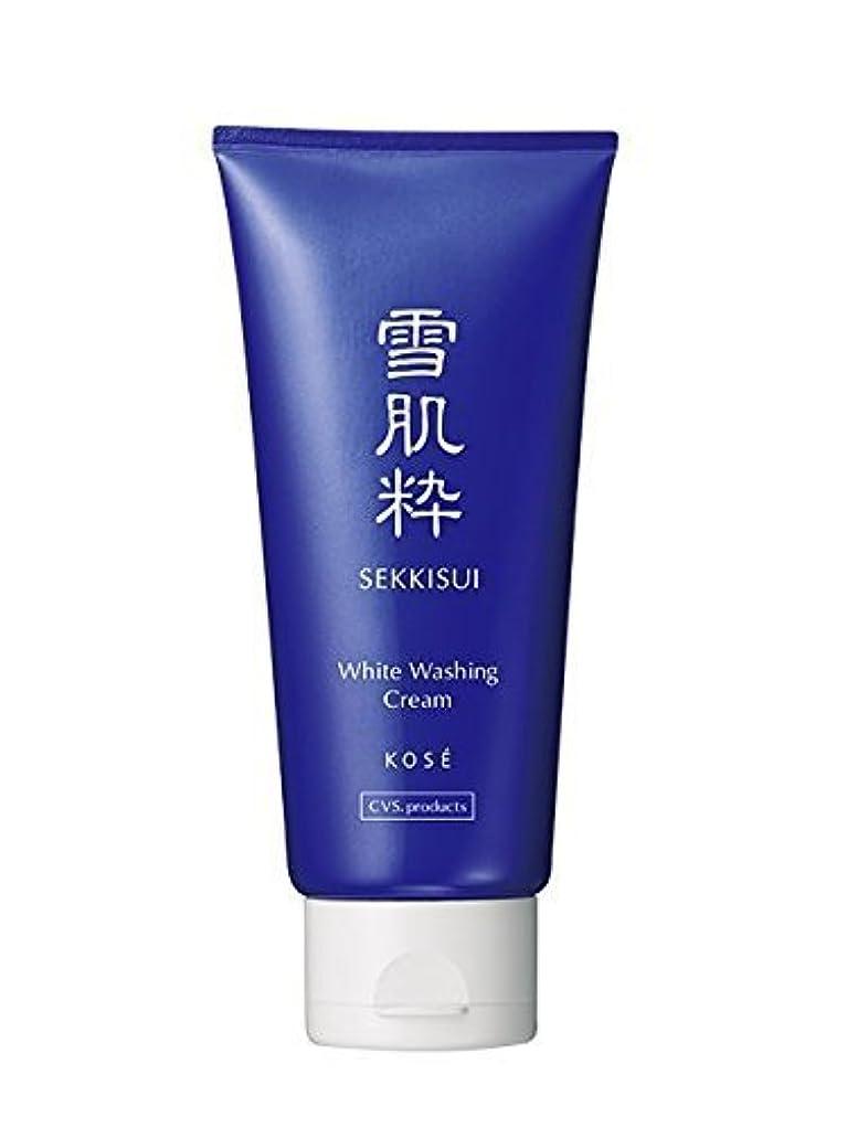 リットル受益者モニター雪肌粋 Kose Sekkisui White Washing Cream - 80g