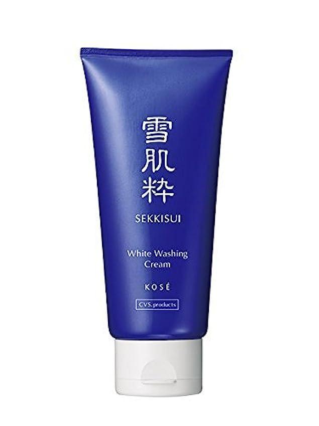 乱雑な騒ぎ音楽を聴く雪肌粋 Kose Sekkisui White Washing Cream - 80g
