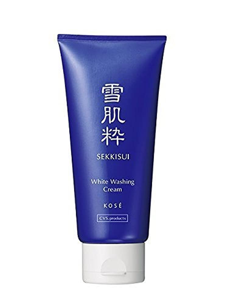土賭け苛性雪肌粋 Kose Sekkisui White Washing Cream - 80g