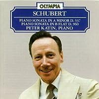 Schubert: Piano Sonata in A Minor, D. 537 / Piano Sonata in B Flat, D. 960 by Schubert (1996-06-20)