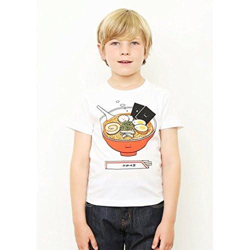 (グラニフ)graniph キッズTシャツ / ラーメンクン ( ホワイト ) 130