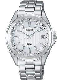 [セイコー]SEIKO 腕時計 DOLCE ドルチェ 日・中・米対応電波ソーラー ホワイト SADZ087 メンズ