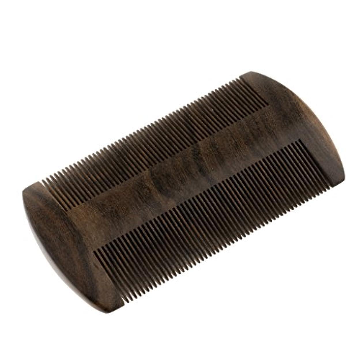 獣ティームシリーズヘアブラシ 静電気防止髭剃り櫛 ウッドコーム ミシュコーム 静電気防止