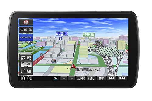 パナソニック カーナビ ストラーダ CN-F1DVD 無料地図更新 フルセグ VICS WIDE SD CD DVD USB Bluetooth 9型 CN-F1DVD