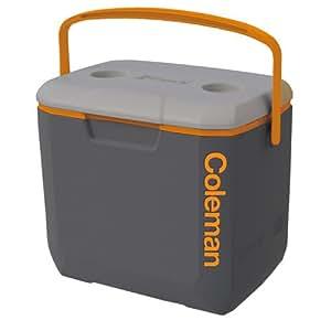 Coleman(コールマン) クーラーボックス エクスカーション/30QT:ダークグレー×オレンジ×ライトグレー(3000002192)