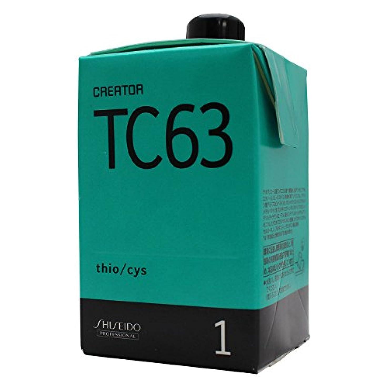イライラする意気込み変形資生堂 クリエイター TC63 第1剤 400ml