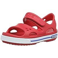 Crocs Kids Crocband II Open Toe Sandal Shoes Red/White US 8