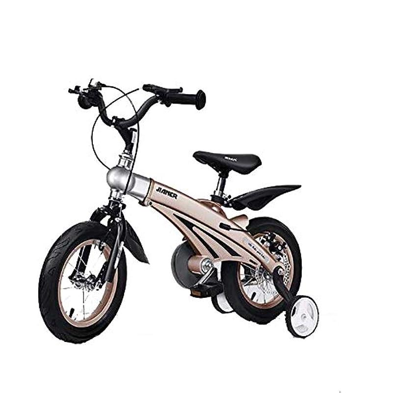 嫉妬崇拝します以下男の子と女の子のための子供用自転車、マグネシウム合金ボディ格納式子供用マウンテンバイク2-10歳、12 '14' 16インチキッズバイク