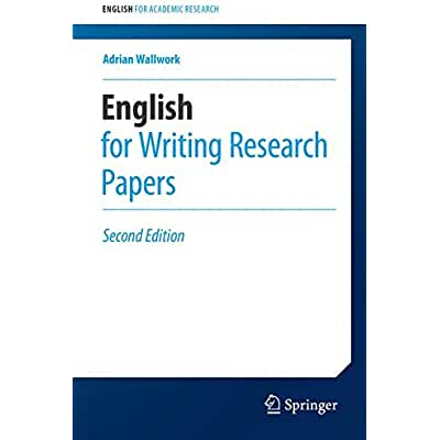 english for writing research papers epub Buy writing research papers: a complete guide pdf ebook, global edition by james lester, james lester from pearson education's online bookshop.