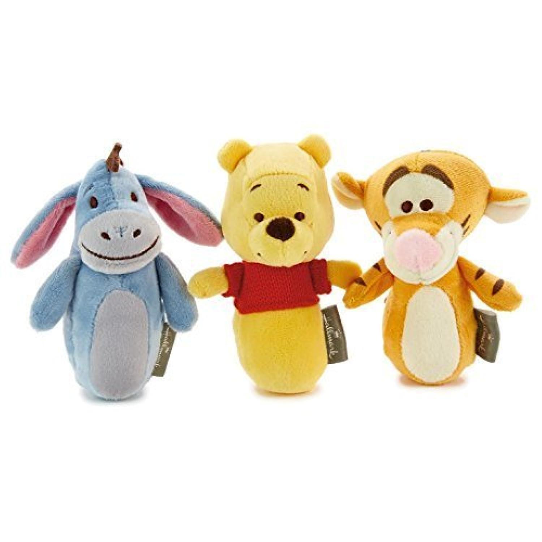 Hallmark Winnie the Pooh Eeyore and Tigger Rattle Set [並行輸入品]