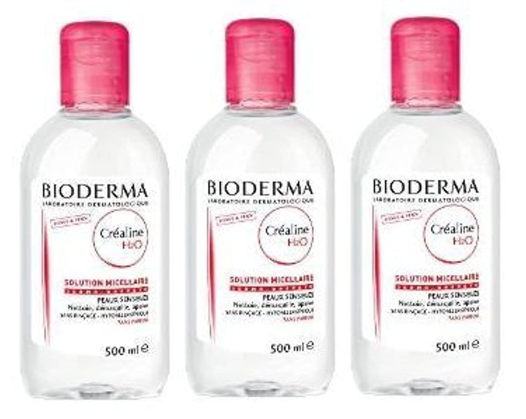 学者自信があるリフトビオデルマ(BIODERMA) サンシビオ H2O D(Crealine H2O)500ml 3本セット[並行輸入品]