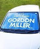 GORDON MILLER サンシェード ジャンボサイズ フロント 車 カー用品 日よけ W1400×H780 ブルー BL 1507024