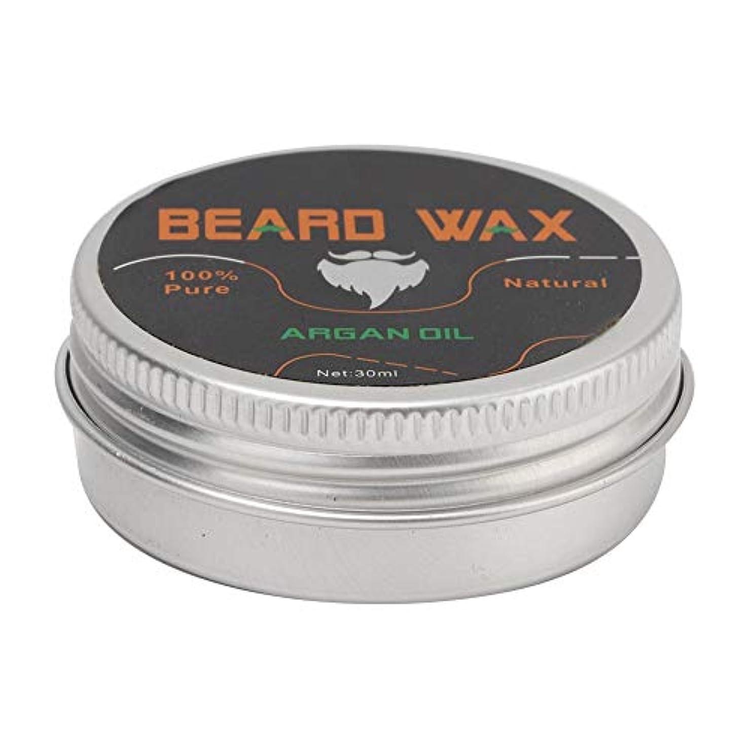 手つかずの壊れた滅多Beard Grooming Wax、30ミリリットル強化&柔らかくするBeards&Moustaches、男性用コンディショナーワックスを残す