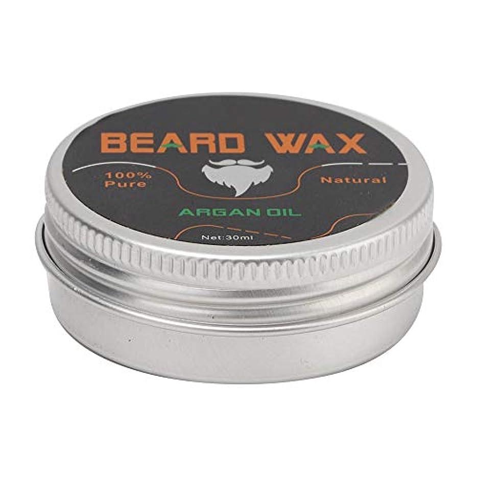 手のひら安いです昼食Beard Grooming Wax、30ミリリットル強化&柔らかくするBeards&Moustaches、男性用コンディショナーワックスを残す