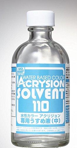 T302 水性カラー アクリジョン専用うすめ液 (中) 110ml