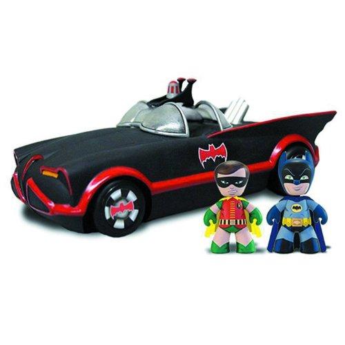 2インチ メズイッツ/ バットマン 1966: 海外限定 バットモービル with バットマン&ロビン