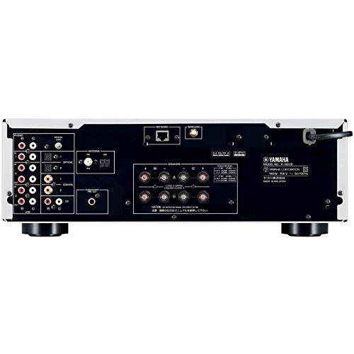 ヤマハ ネットワークHi-Fiレシーバー ワイドFM・AMチューナー/Wi-Fi/Bluetooth/ハイレゾ音源対応 シルバー R-N602(S)